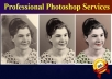 Professionally Restore repair Old Damaged  Family Photos