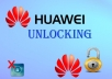 unlock your HUAWEI dongle or phone