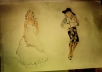 draw you a fashion designs of your choice