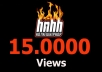 add 15000 Views HotNewHipHop