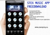 create a professional app for music artists, djs, label