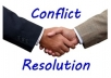 mediate and resolve any conflicts within 24 hours.