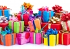 send you 2 awesome gift websites