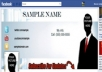 design a professional Facebook Timeline cover for your profile in minutes