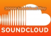 PROVIDE 20000 soundcloud PLAYS YOU CAN SPLIT GUARANTEED