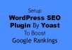 install Yoast wordpress Seo plugin and optimize your onpage SEO