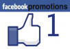promote your link several times on facebook