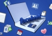 promote your link with 2000000 people On Facebook