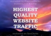 Drive 5,000+ Real Human Traffic To your Site