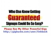 Send SUPER TARGETED Visitors To Your Site For Signups And Sales