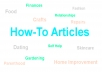 create a 400 word how to article