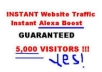 Submit 5000 Targeted Visitors To your Website