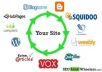 create LINKWHEEL of 10 Having 10 High Page Rank Dofollow Blogs