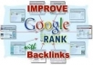 BOOST your WEBSITE to TOP Google Rankings by MANUALLY creating over 120+ HIGH-QUALITY PR9-PR2 BACKLINKS, ONE MILLION Facebook group submission for High-Quality Traffic and 100 Search Engine Submission