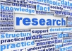 do quality research for 30 minutes