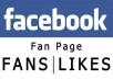 give you 4000+ high quality facebook fanpage likes