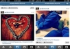 give Instantly 2,000 High Quality Instagram Followers OR 2,000 Likes