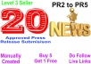 Submit Your Press release in 20 High PR press release sites