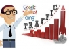 deliver 500+ USA and 1000 WorldWide Real Unique Visitors to your site