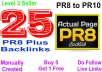 Create 25PR8 Do Follow SEO backlinks for your website