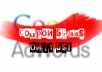 give you 10 x 100$ Google Adwords coupon