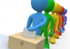 give 220 votes with different email address to any contest on any website