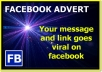 Blast your link, To 12 Million People, It Goes Viral On Facebook