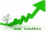 drive 5000 Real Human Traffic to your Website