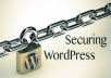 repair wordpress security vulnerabilities.