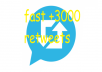 do 3000 retweets on twitter