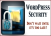secure your WordPress site against hackers