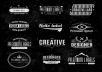 create a Vintage and Cool LOGO for you or your company