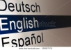 give you a good translation from English to Spanish