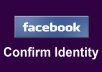 complete your facebook confirm identity