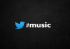 tweet about your music to 9000+ REAL music fans
