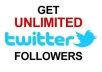 tell you the method to get unlimited twitter followers