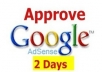 provide Fully Approved Adsense Account within 48 Hours