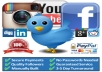 give you 3000 Instagram ir Twitter Followers
