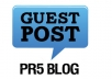 Guest post on my PR5 Blog