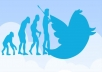 give you 10000+ twitter followers cheap and best and fast