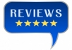 write you positive reviews for anything