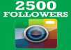 give you 2500+ Instagram Followers within 12-24 Hours