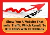show You A Website That sells Traffic Which Result To KILLINGS With CLICKBank