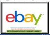 Send 10,000 Real eBay VIEWS to your eBay Product Page and 2 Watchers,Get Bonus