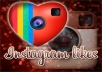 give you 2500+ Instagram Likes within 12-24 Hours