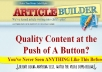 generate you 3 ArticleBuilder spyntax articles