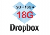expand dropbox account to 18G