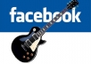 promote your Music to over 200000 Music lovers on facebook,Total 600000