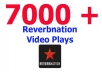 get you 7000 Video Plays on Reverbnation Profile
