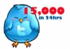 provide permanent 15000 Twitter Followers or 10000 retweets or favorites